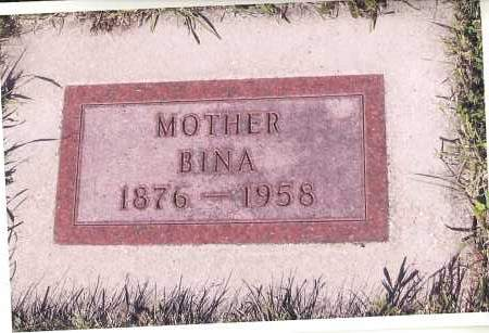 JOHNSON, BINA - Richland County, North Dakota   BINA JOHNSON - North Dakota Gravestone Photos