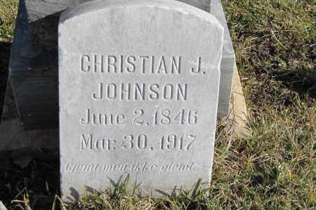 JOHNSON, CHRISTIAN J. - Richland County, North Dakota | CHRISTIAN J. JOHNSON - North Dakota Gravestone Photos