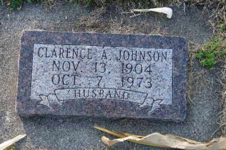 JOHNSON, CLARENCE A. - Richland County, North Dakota | CLARENCE A. JOHNSON - North Dakota Gravestone Photos