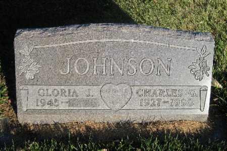 JOHNSON, CHARLES G. - Richland County, North Dakota   CHARLES G. JOHNSON - North Dakota Gravestone Photos