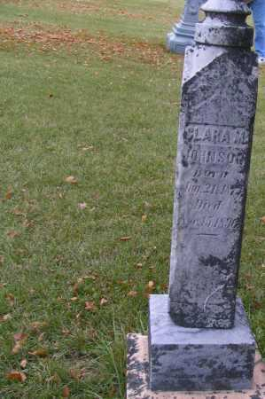JOHNSON, CLARA M. - Richland County, North Dakota   CLARA M. JOHNSON - North Dakota Gravestone Photos