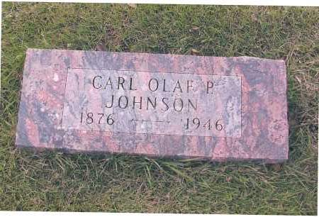 JOHNSON, CARL OLAF P. - Richland County, North Dakota | CARL OLAF P. JOHNSON - North Dakota Gravestone Photos