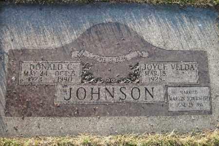 JOHNSON, DONALD C. - Richland County, North Dakota | DONALD C. JOHNSON - North Dakota Gravestone Photos