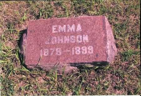 JOHNSON, EMMA - Richland County, North Dakota | EMMA JOHNSON - North Dakota Gravestone Photos