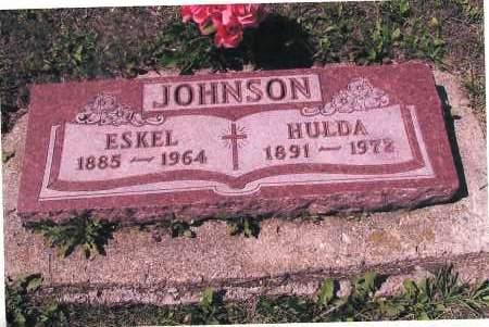 JOHNSON, HULDA - Richland County, North Dakota | HULDA JOHNSON - North Dakota Gravestone Photos