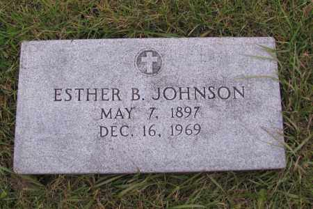 JOHNSON, ESTHER B. - Richland County, North Dakota | ESTHER B. JOHNSON - North Dakota Gravestone Photos
