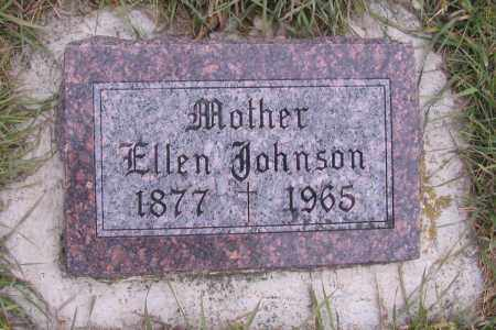 JOHNSON, ELLEN - Richland County, North Dakota | ELLEN JOHNSON - North Dakota Gravestone Photos
