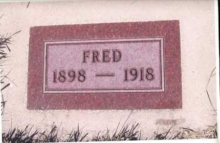 JOHNSON, FRED - Richland County, North Dakota | FRED JOHNSON - North Dakota Gravestone Photos
