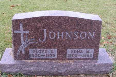 JOHNSON, EDNA M. - Richland County, North Dakota | EDNA M. JOHNSON - North Dakota Gravestone Photos