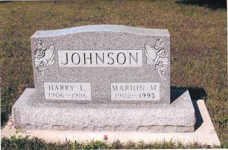 JOHNSON, MARION M. - Richland County, North Dakota | MARION M. JOHNSON - North Dakota Gravestone Photos