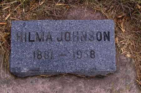 JOHNSON, HILMA - Richland County, North Dakota | HILMA JOHNSON - North Dakota Gravestone Photos