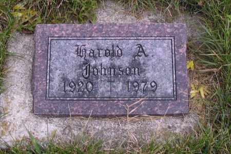JOHNSON, HAROLD A. - Richland County, North Dakota | HAROLD A. JOHNSON - North Dakota Gravestone Photos