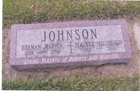 JOHNSON, BEATRICE - Richland County, North Dakota   BEATRICE JOHNSON - North Dakota Gravestone Photos