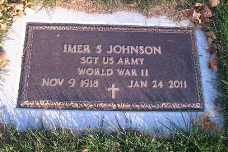 JOHNSON, IMER S. - Richland County, North Dakota | IMER S. JOHNSON - North Dakota Gravestone Photos