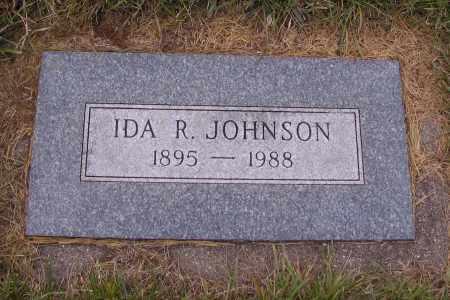 JOHNSON, IDA R. - Richland County, North Dakota | IDA R. JOHNSON - North Dakota Gravestone Photos