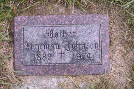 JOHNSON, INGEMAN - Richland County, North Dakota | INGEMAN JOHNSON - North Dakota Gravestone Photos