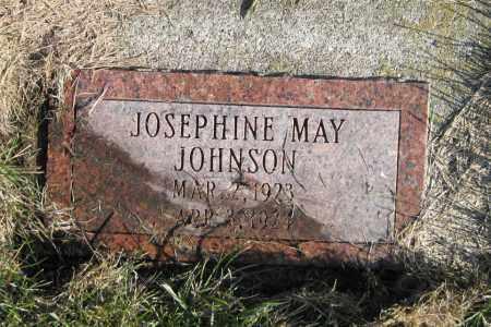 JOHNSON, JOSEPHINE MAY - Richland County, North Dakota   JOSEPHINE MAY JOHNSON - North Dakota Gravestone Photos