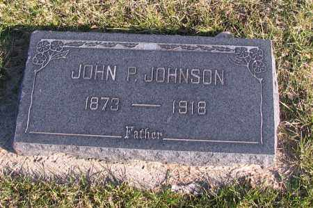 JOHNSON, JOHN P. - Richland County, North Dakota | JOHN P. JOHNSON - North Dakota Gravestone Photos