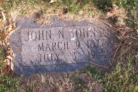JOHNSON, JOHN N. - Richland County, North Dakota | JOHN N. JOHNSON - North Dakota Gravestone Photos