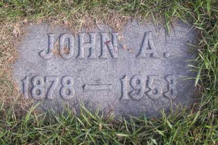 JOHNSON, JOHN A. - Richland County, North Dakota | JOHN A. JOHNSON - North Dakota Gravestone Photos