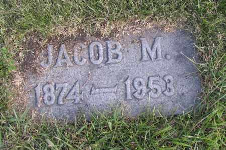 JOHNSON, JACOB M. - Richland County, North Dakota | JACOB M. JOHNSON - North Dakota Gravestone Photos