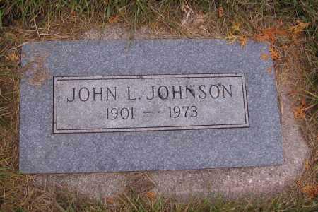 JOHNSON, JOHN L. - Richland County, North Dakota | JOHN L. JOHNSON - North Dakota Gravestone Photos