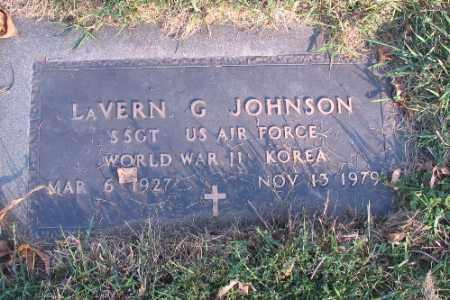 JOHNSON, LAVERN G. - Richland County, North Dakota | LAVERN G. JOHNSON - North Dakota Gravestone Photos
