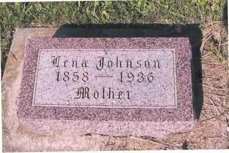 JOHNSON, LENA - Richland County, North Dakota   LENA JOHNSON - North Dakota Gravestone Photos