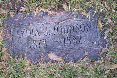 JOHNSON, LYDIA J. - Richland County, North Dakota | LYDIA J. JOHNSON - North Dakota Gravestone Photos