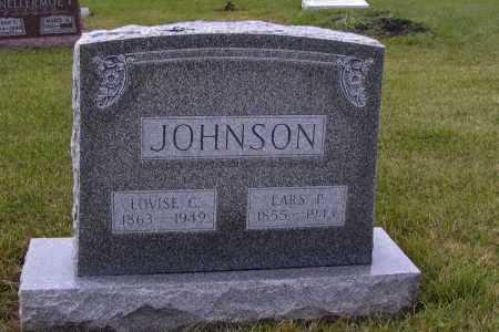 JOHNSON, LOVISE L. - Richland County, North Dakota   LOVISE L. JOHNSON - North Dakota Gravestone Photos
