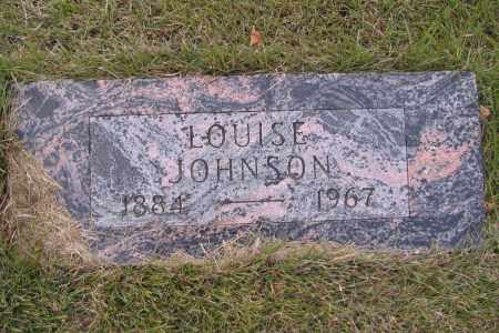 JOHNSON, LOUISE - Richland County, North Dakota | LOUISE JOHNSON - North Dakota Gravestone Photos