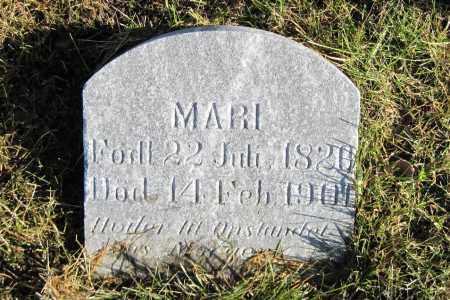 JOHNSON, MARI - Richland County, North Dakota | MARI JOHNSON - North Dakota Gravestone Photos