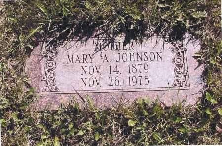 JOHNSON, MARY A. - Richland County, North Dakota | MARY A. JOHNSON - North Dakota Gravestone Photos