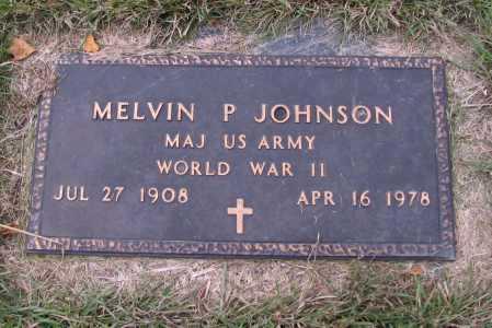 JOHNSON, MELVIN P. - Richland County, North Dakota   MELVIN P. JOHNSON - North Dakota Gravestone Photos