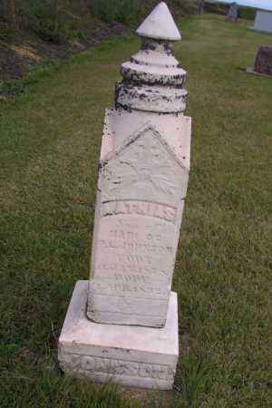 JOHNSON, NATHIAS - Richland County, North Dakota | NATHIAS JOHNSON - North Dakota Gravestone Photos