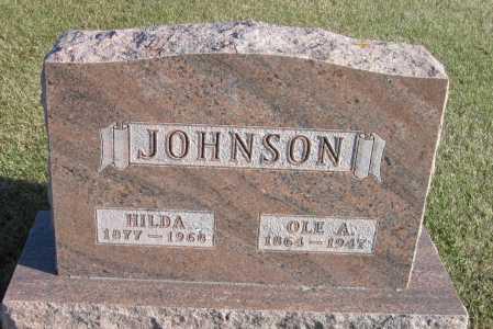 JOHNSON, OLE A. - Richland County, North Dakota | OLE A. JOHNSON - North Dakota Gravestone Photos