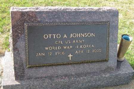 JOHNSON, OTTO A. - Richland County, North Dakota | OTTO A. JOHNSON - North Dakota Gravestone Photos