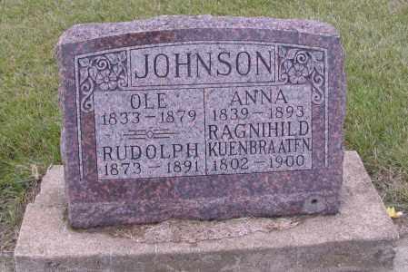 JOHNSON, KUENBRAATEN - Richland County, North Dakota | KUENBRAATEN JOHNSON - North Dakota Gravestone Photos