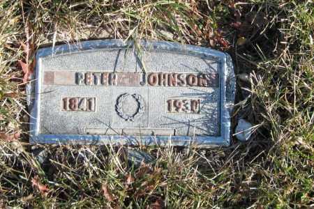 JOHNSON, PETER - Richland County, North Dakota | PETER JOHNSON - North Dakota Gravestone Photos