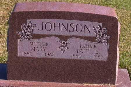JOHNSON, MARY - Richland County, North Dakota   MARY JOHNSON - North Dakota Gravestone Photos