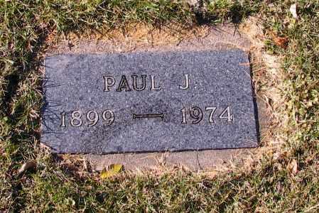 JOHNSON, PAUL J. - Richland County, North Dakota | PAUL J. JOHNSON - North Dakota Gravestone Photos