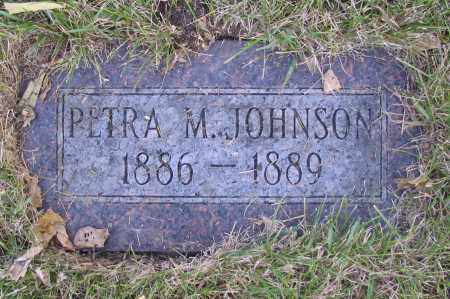 JOHNSON, PETRA M. - Richland County, North Dakota | PETRA M. JOHNSON - North Dakota Gravestone Photos