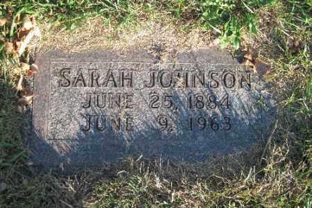 JOHNSON, SARAH - Richland County, North Dakota   SARAH JOHNSON - North Dakota Gravestone Photos
