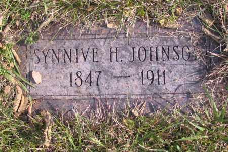 JOHNSON, SYNNIVE H. - Richland County, North Dakota   SYNNIVE H. JOHNSON - North Dakota Gravestone Photos