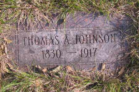 JOHNSON, THOMAS A. - Richland County, North Dakota | THOMAS A. JOHNSON - North Dakota Gravestone Photos