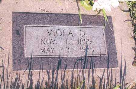JOHNSON, VIOLA O. - Richland County, North Dakota | VIOLA O. JOHNSON - North Dakota Gravestone Photos