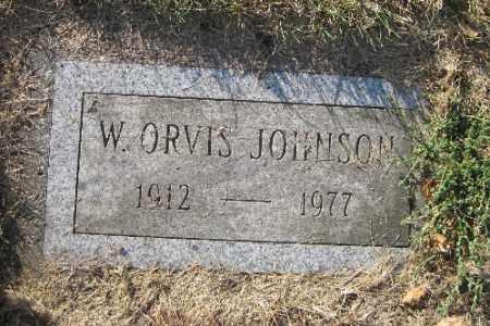 JOHNSON, W. ORVIS - Richland County, North Dakota | W. ORVIS JOHNSON - North Dakota Gravestone Photos