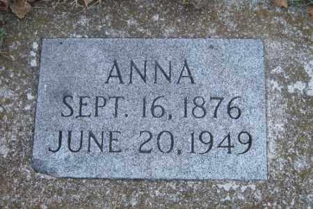 JONES, ANNA - Richland County, North Dakota | ANNA JONES - North Dakota Gravestone Photos
