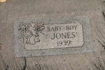 JONES, BABY BOY - Richland County, North Dakota | BABY BOY JONES - North Dakota Gravestone Photos