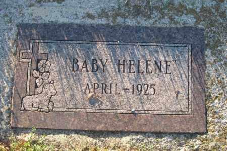JONES, BABY HELENE - Richland County, North Dakota | BABY HELENE JONES - North Dakota Gravestone Photos
